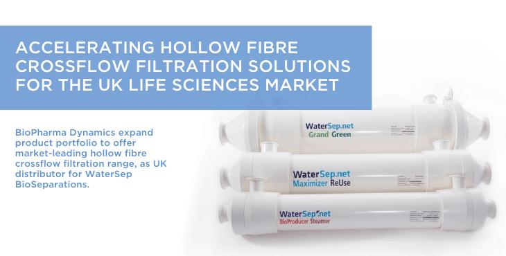 Accelerating hollow fibre crossflow filtration solutions for the UK Life Sciences Market