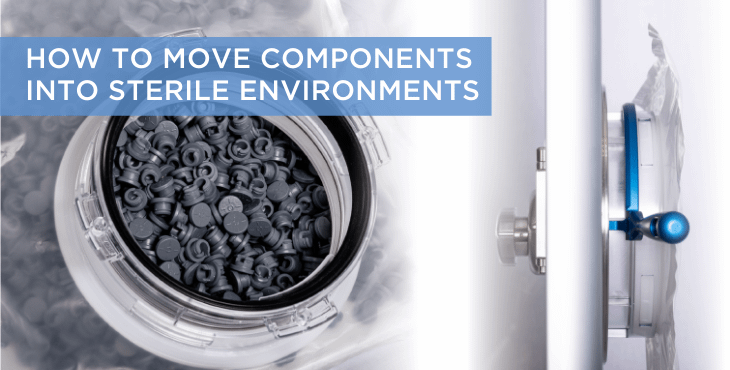 Single-Use Beta Bags –How to move components into sterile environments